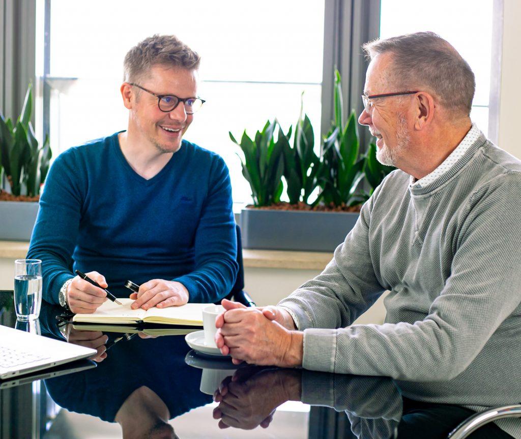 Finanzberatung was macht ein Finanzberater Gespräch