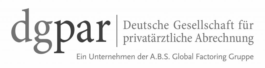 dgpar Deutsche Gesellschaft für privatärztliche Abrechnung Logo